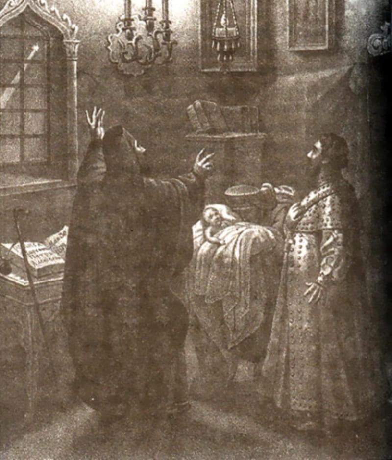 Борис Чориков «Рождение Петра Великого»