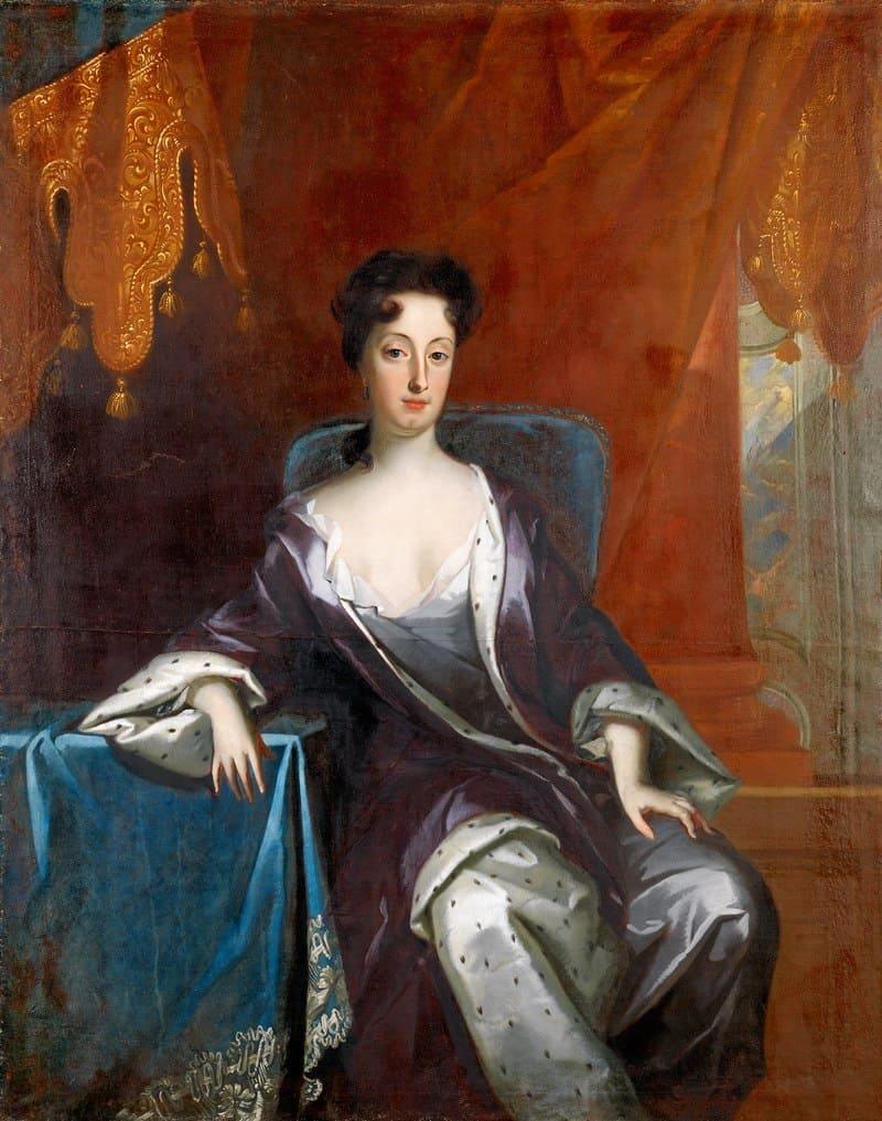 Давид фон Крафт «Портрет Гедвиги Софии Августы Шведской»