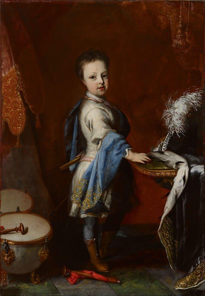 Давид фон Крафт «Портрет Карла Фридриха в детстве»