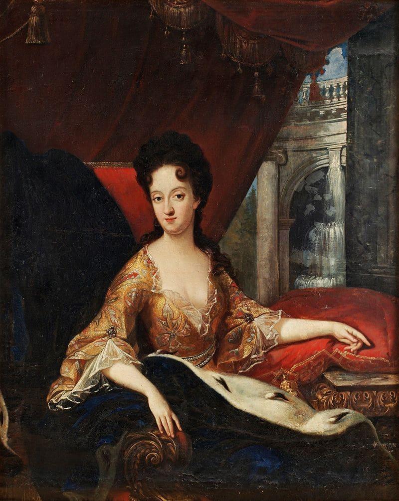 Давид фон Крафт «Портрет королевы Ульрики Элеоноры», сестра Карла XII и Гедвиги