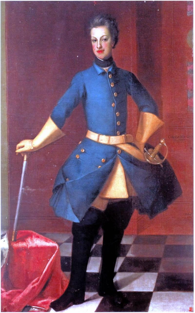 Дэвид фон Крафт «Портрет Карла Фридриха Гольштейн-Готторпского», начало 1720-х годов