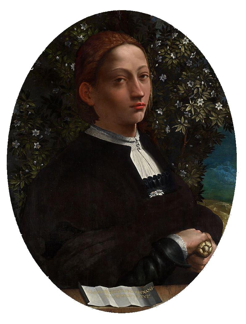 Единственный достоверный портрет Лукреции, написанный с натуры