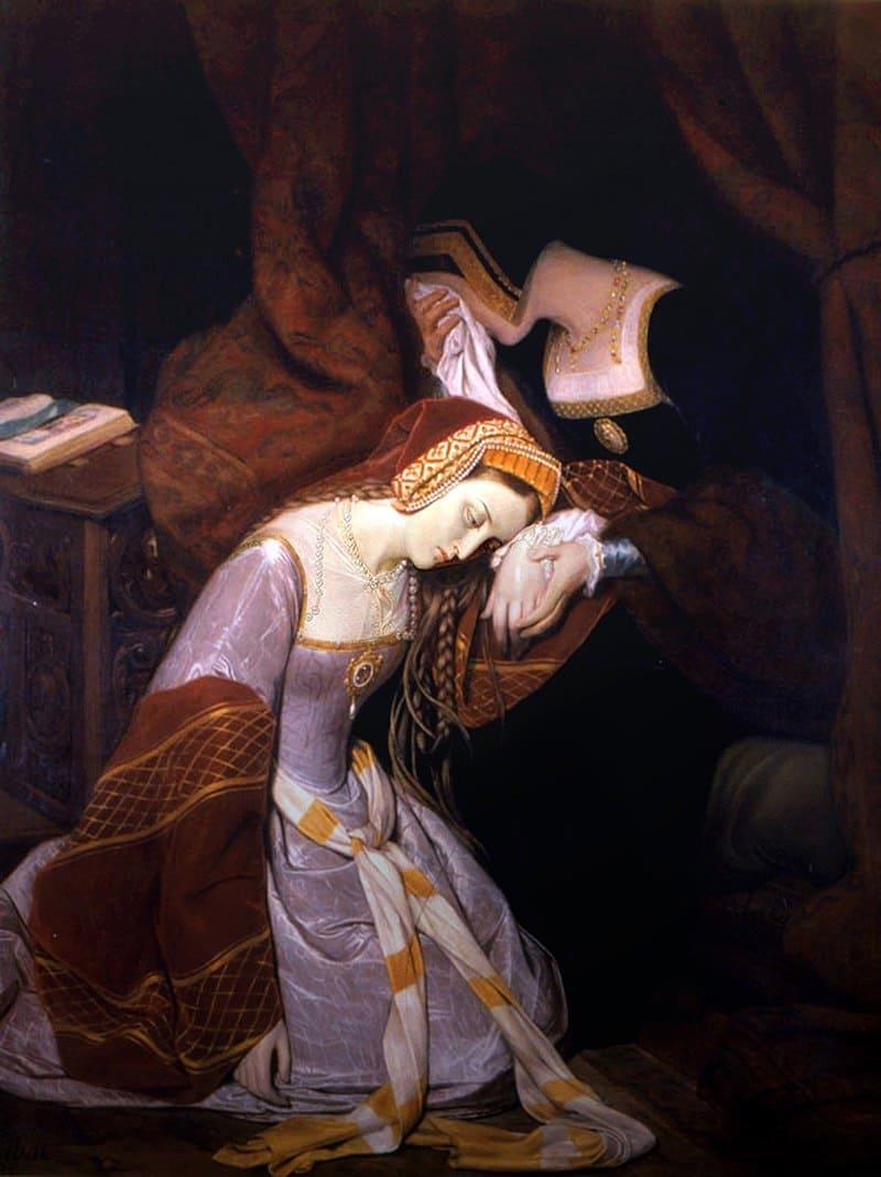 Эдуард Сибо «Анна Болейн в Тауэре»