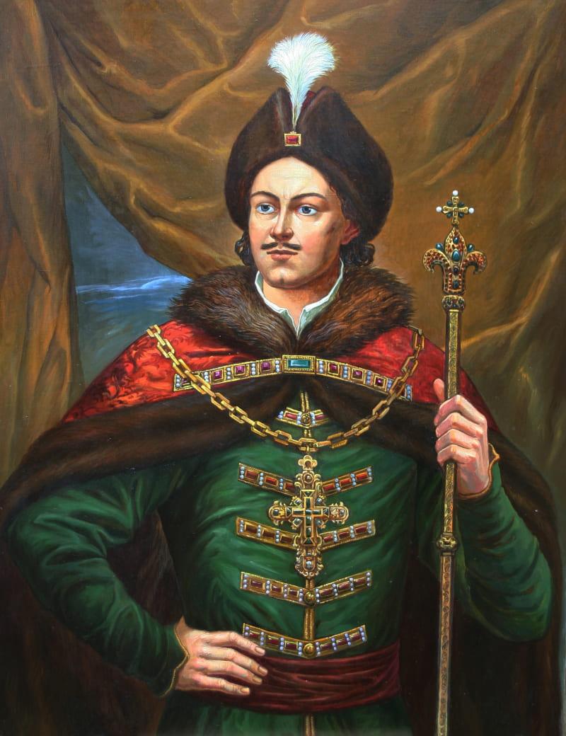 Филипп Москвитин «Портрет Петра Великого»