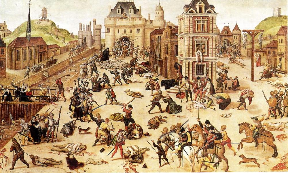Франсуа Дюбуа «Религиозные войны во Франции»