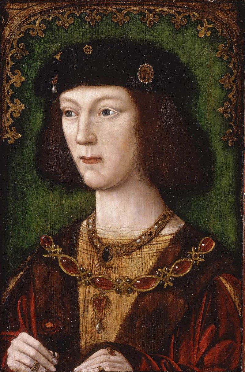Генрих VIII в молодости, в год вступления на престол