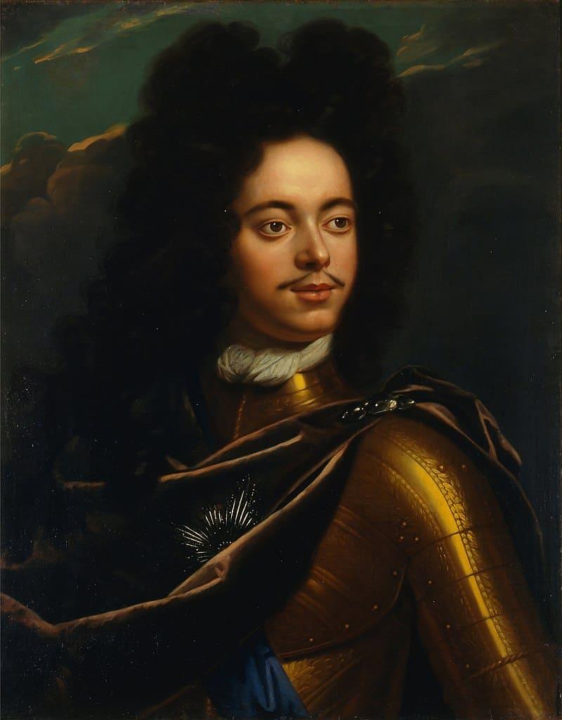 Годфрид Схалкен «Портрет Петра I», 1703-1706 гг