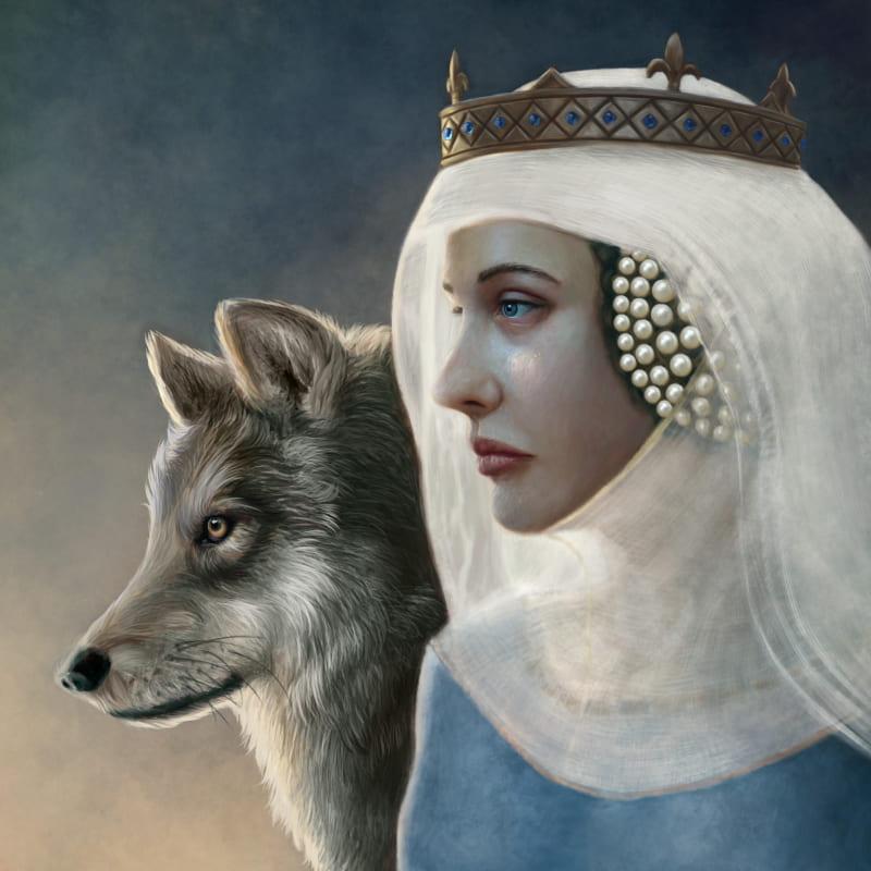 Изабелла, «Волчица» Франции. Исторический портрет, основанный на современных источниках / © Martin Woods / martinwoods.artstation.com