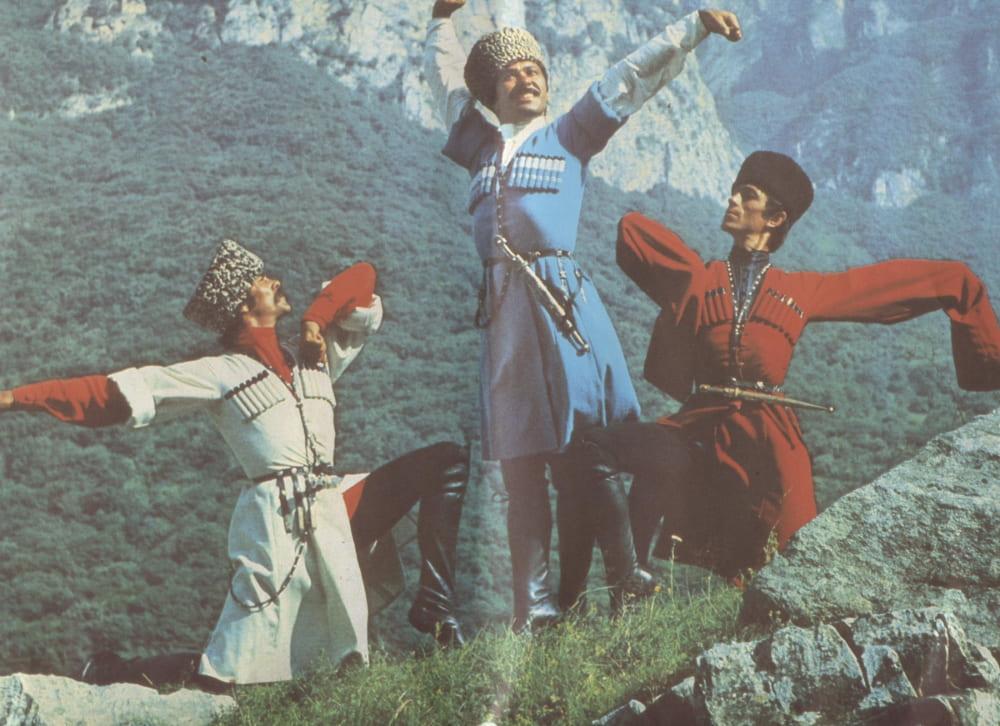 Кабардинцы в горах