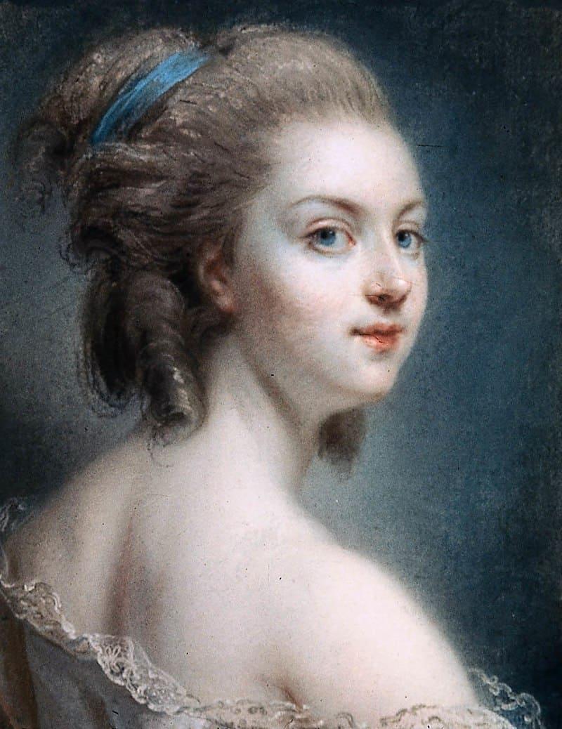 Клод-Жан-Батист Хойн «Предполагаемый портрет Розали Дюте»