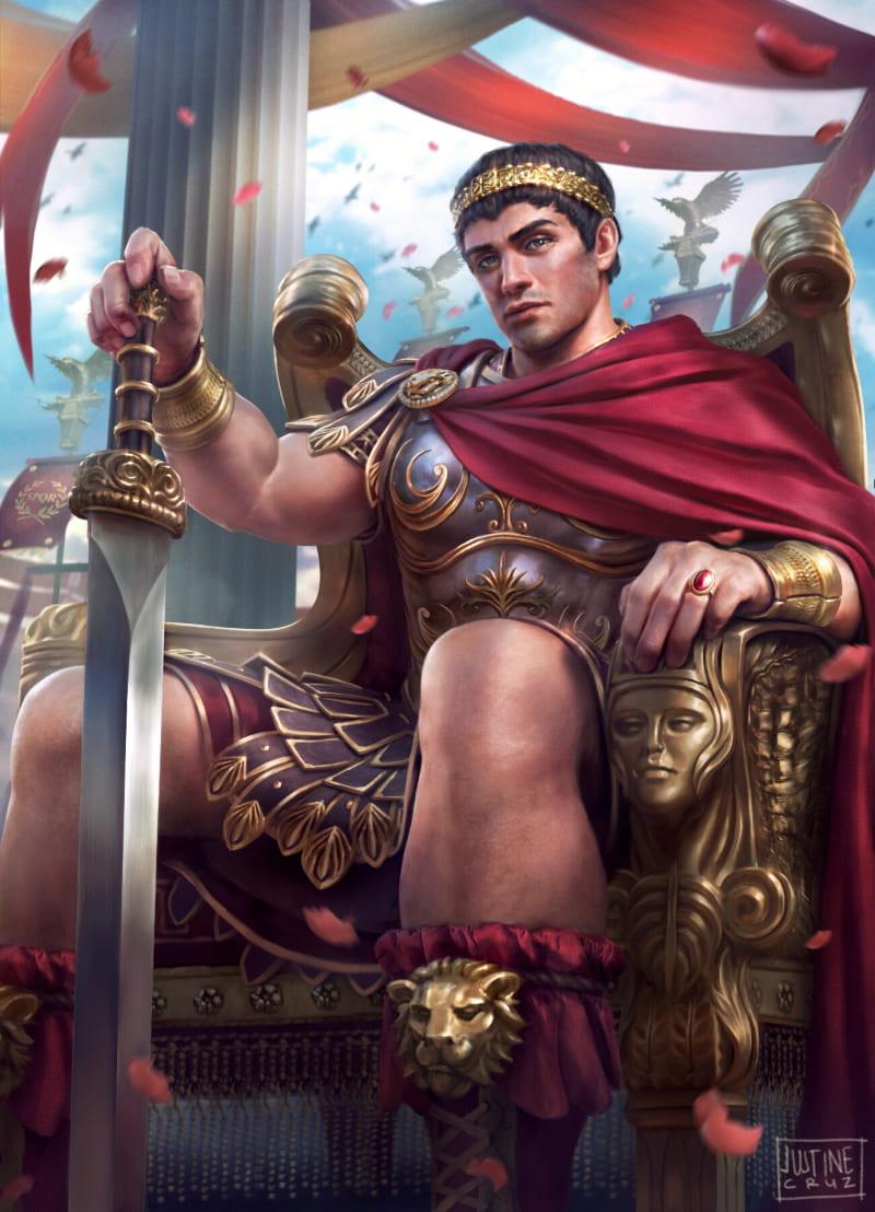 Константин Великий / © Justine Cruz / justinecruz.artstation.com