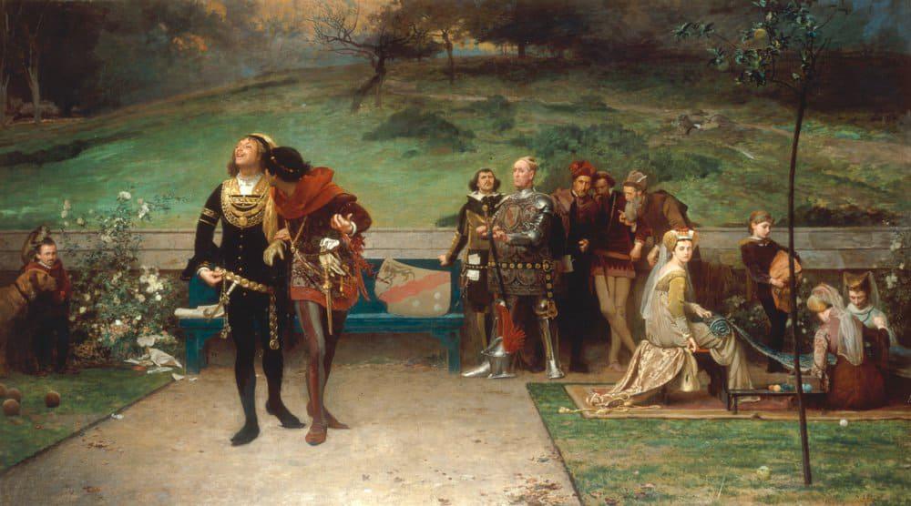 Маркус Стоун «Эдуард II и Пирс Гавестон»