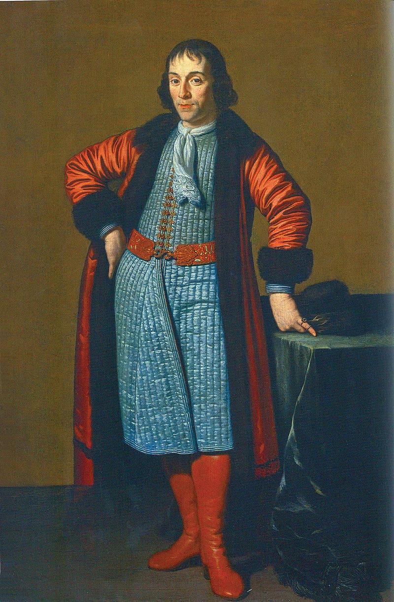 Михиль ван Мюссер «Портрет Александра Меншикова, написанный в Голландии во время Великого посольства»