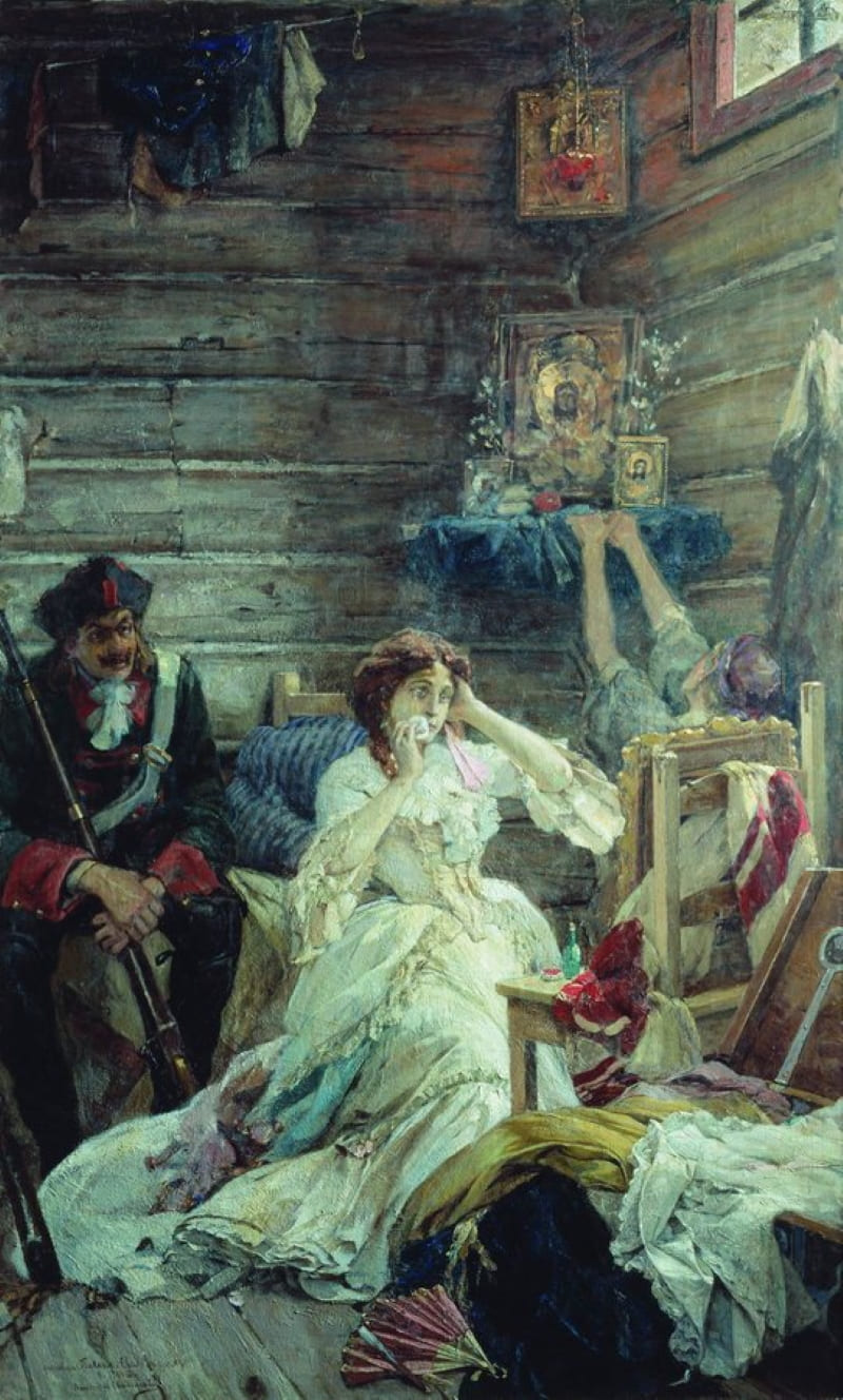 Павел Сведомский «Мария Гамильтон перед казнью»