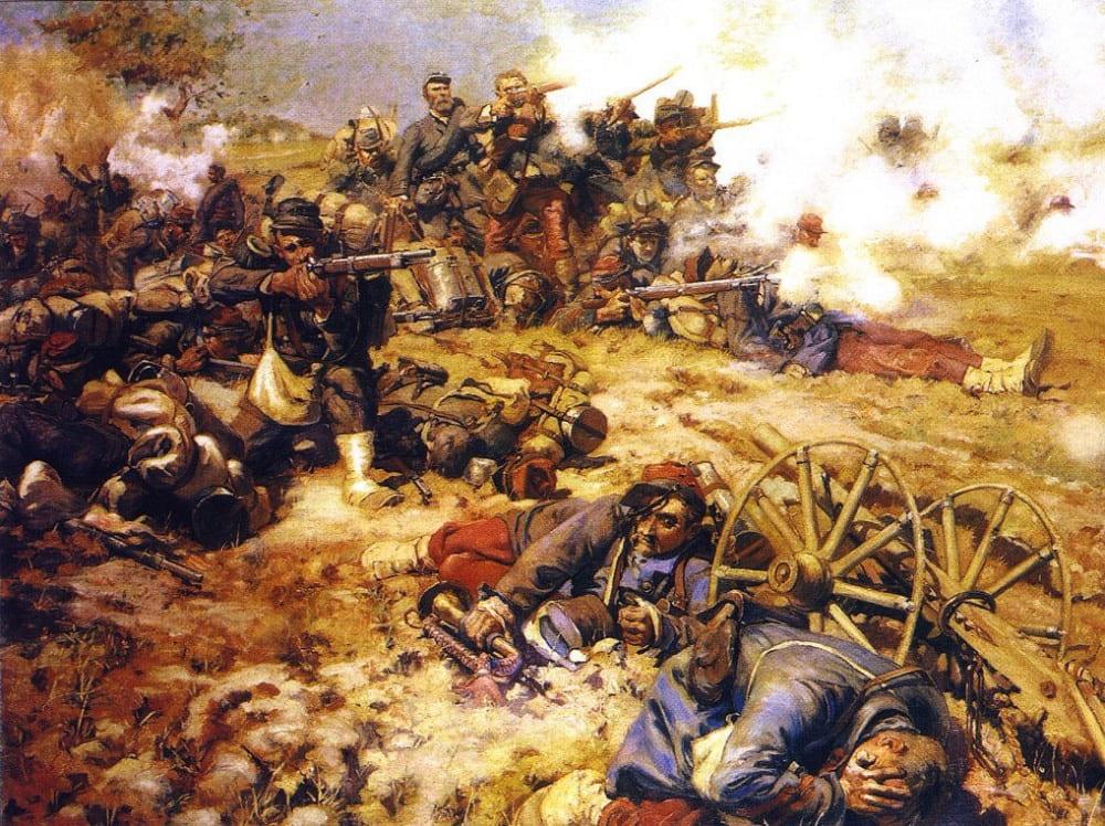 Пьер-Жорж Жаннью «Битва при Марс-ла-Тур» (Франко-прусская война)