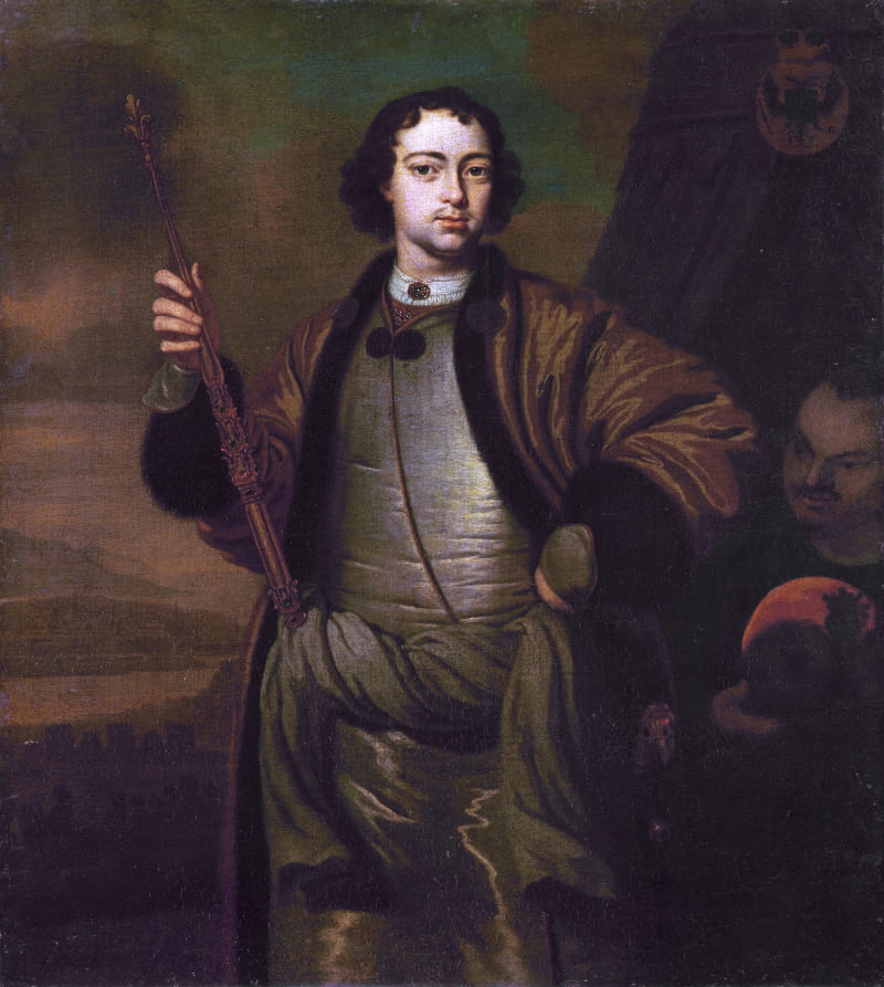 Питер ван дер Верфф «Голландский портрет Петра I»