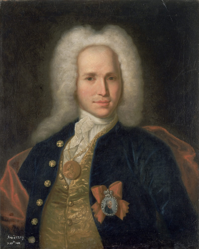 Портрет Андрея Константиновича Нартова