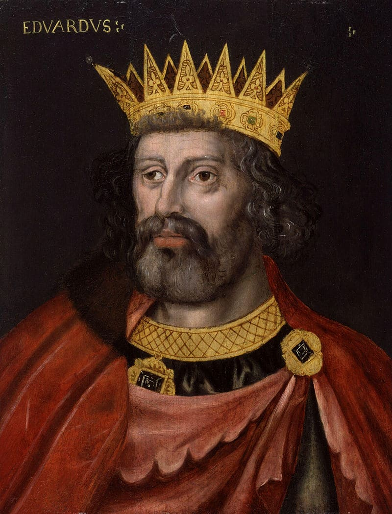 Портрет Эдуарда II, короля Англии