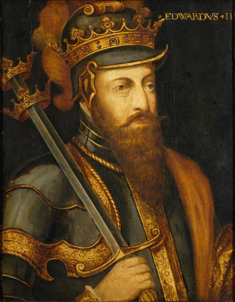 Портрет Эдуарда III, короля Англии