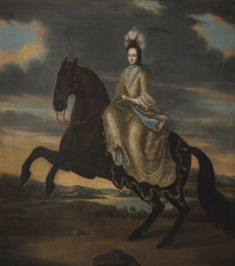 Портрет Гедвиги Софии Августы Шведской