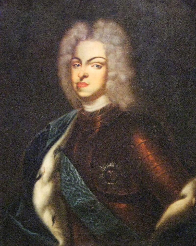 Портрет Карла Фридриха Гольштейн-Готторпского