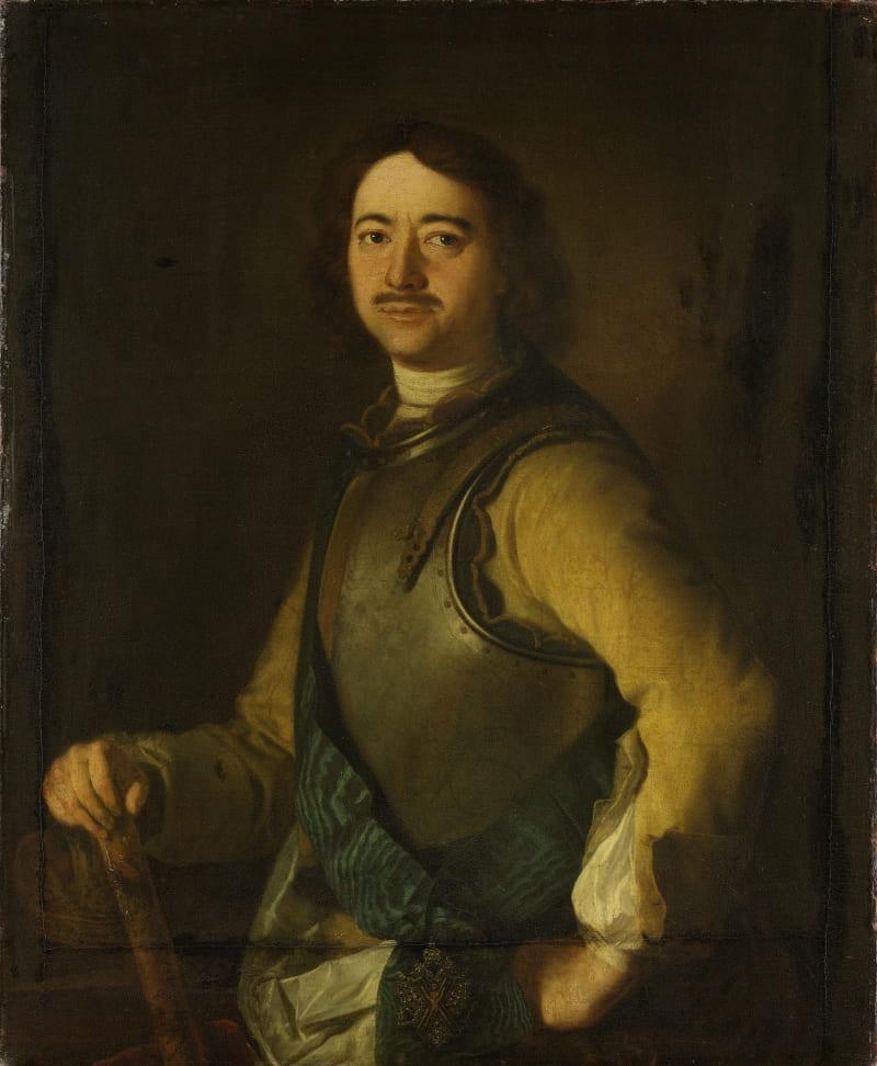 Портрет Петра Великого, между 1700-1750 годами