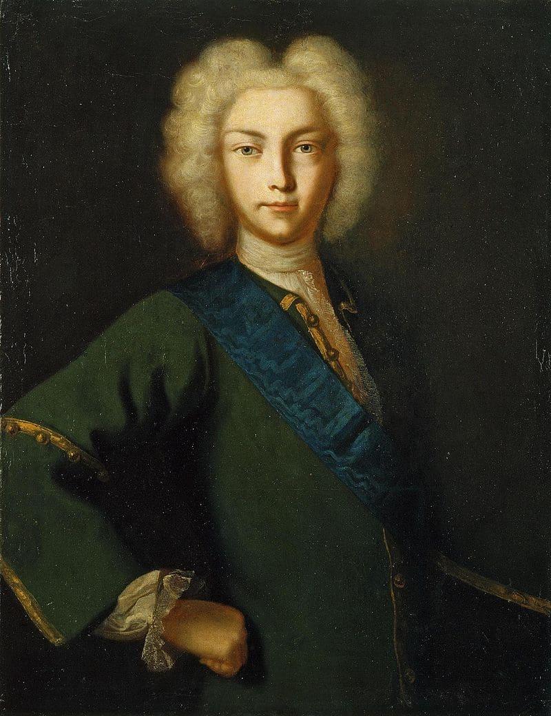 Портрет Петра II Алексеевича
