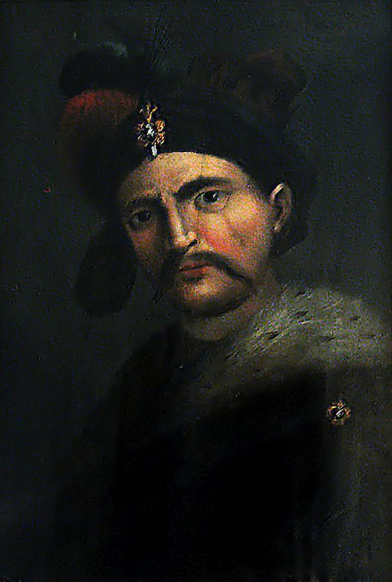 Портрет шаха Аббаса. Работа итальянского художника XVI века