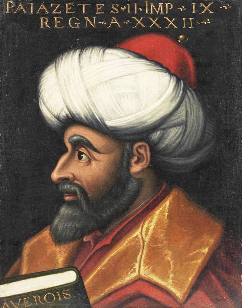 Портрет султана Баязида II