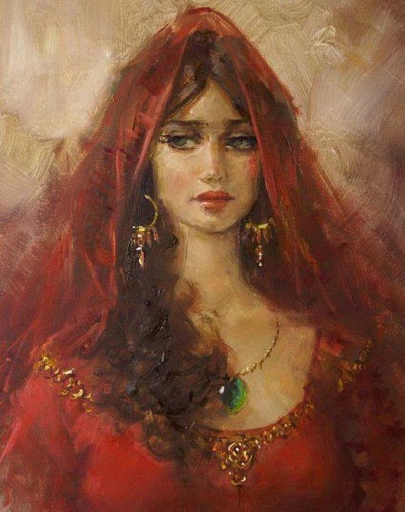 Ремзи Таскариан «Девушка Востока»