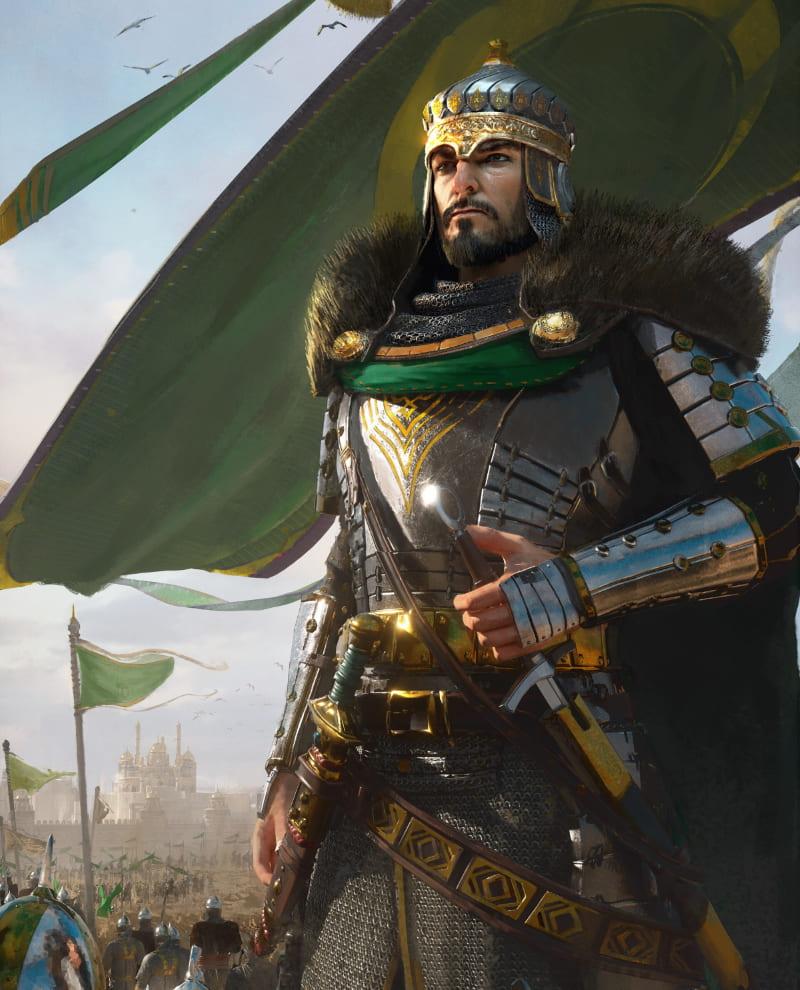 Султан империи / © Bai 04 / bai04.artstation.com (не является портретом Баязида II)