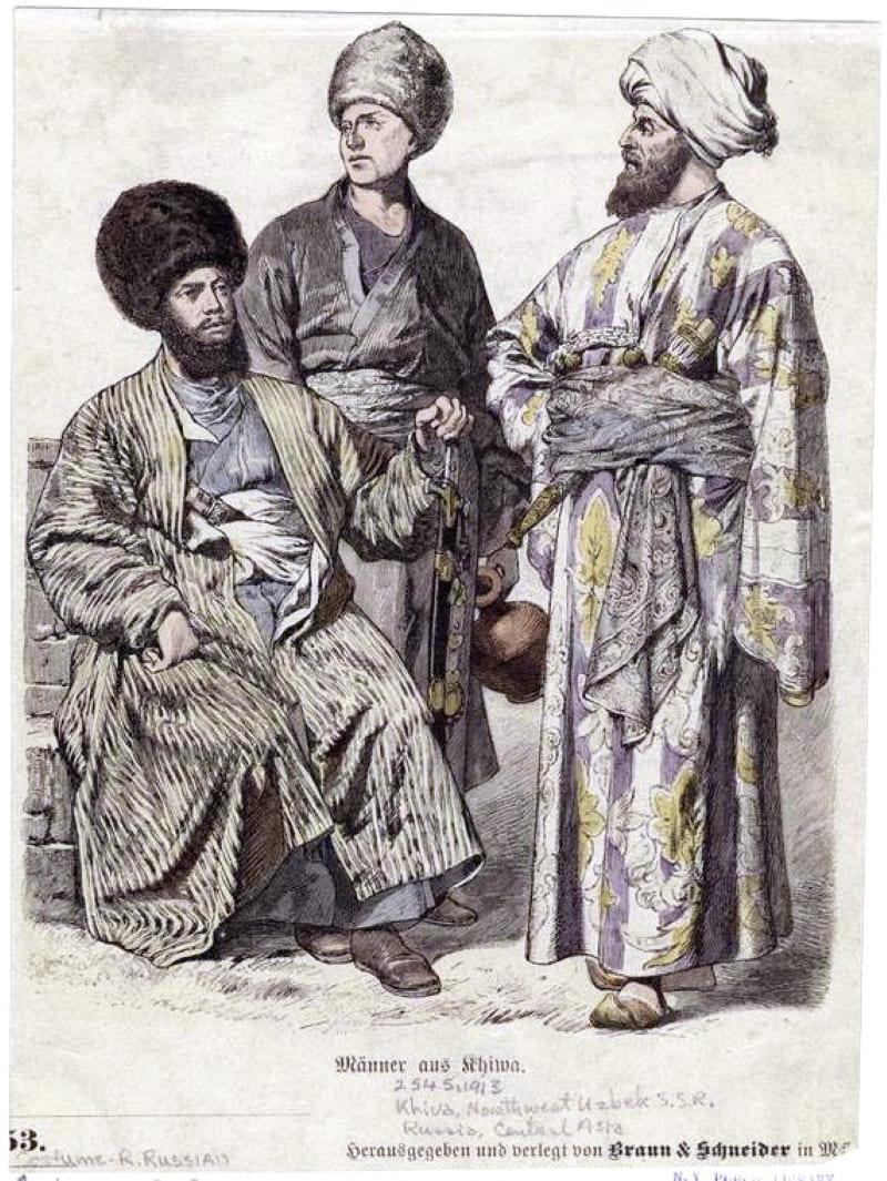 Узбеки Хивы, Северо-Западный Узбекистан