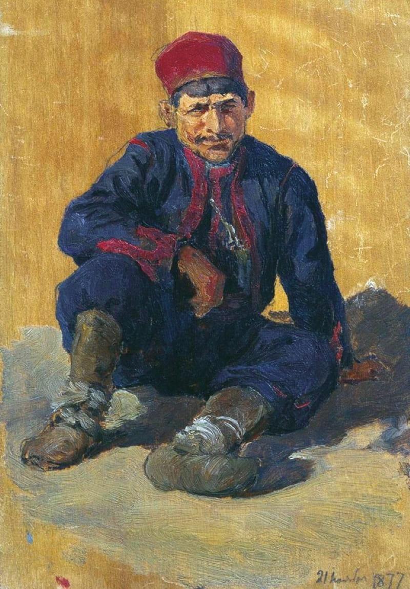 Василий Поленов «Сербский мужчина»