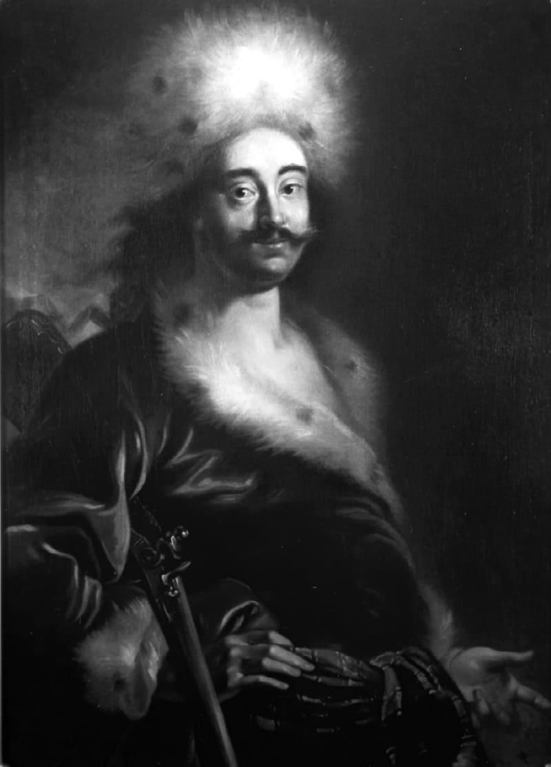 Ян Купецкий «Портрет Петра I», 1711-1712 годы