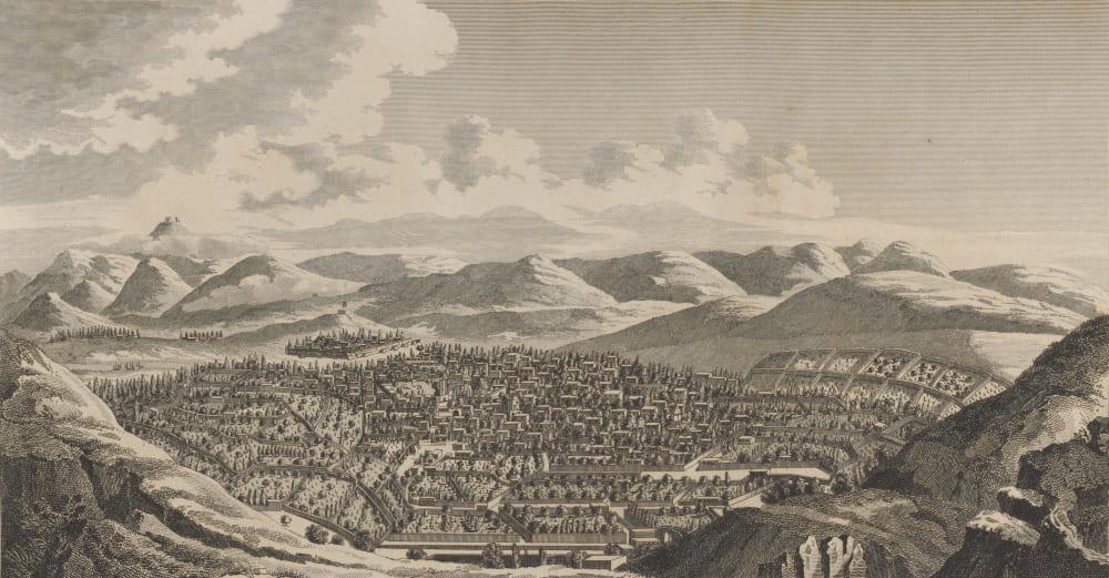 Жан Шарден «Вид на Эривань», 1672 год