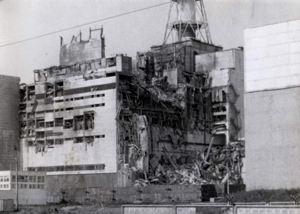 4 энергоблок после взрыва / chernobyl-heart.com