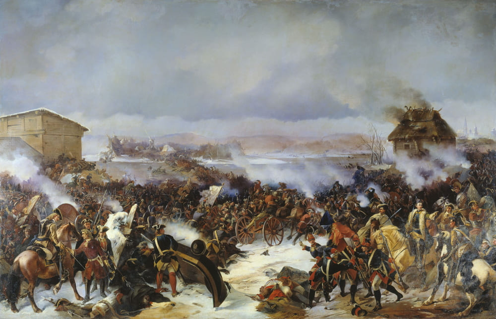 Александр Коцебу «Битва при Нарве»