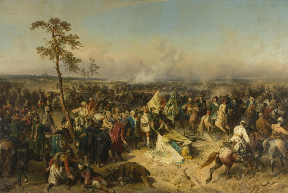 Александр Коцебу «Полтавская победа»