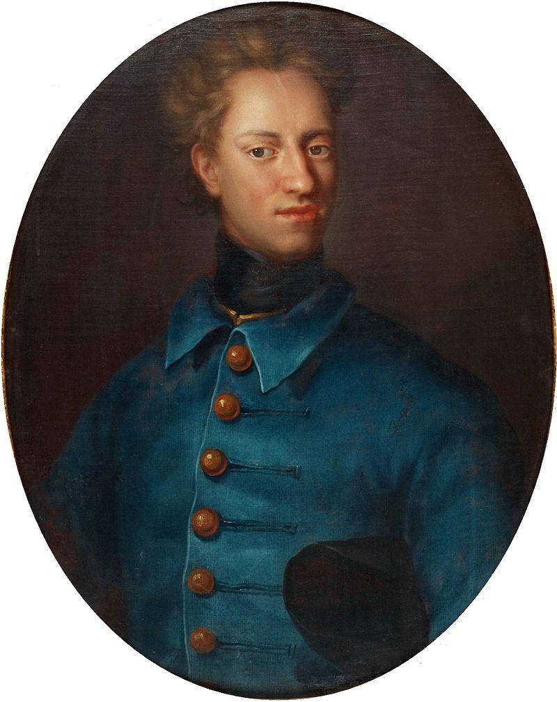 Давид фон Крафт «Портрет короля Швеции Карла XII»
