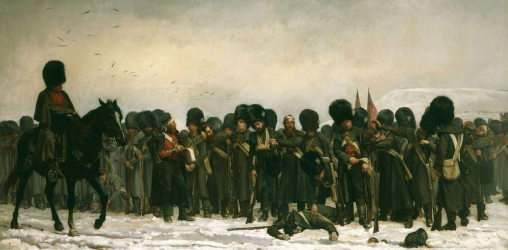 Элизабет Томпсон «Перекличка после боя, Крым»