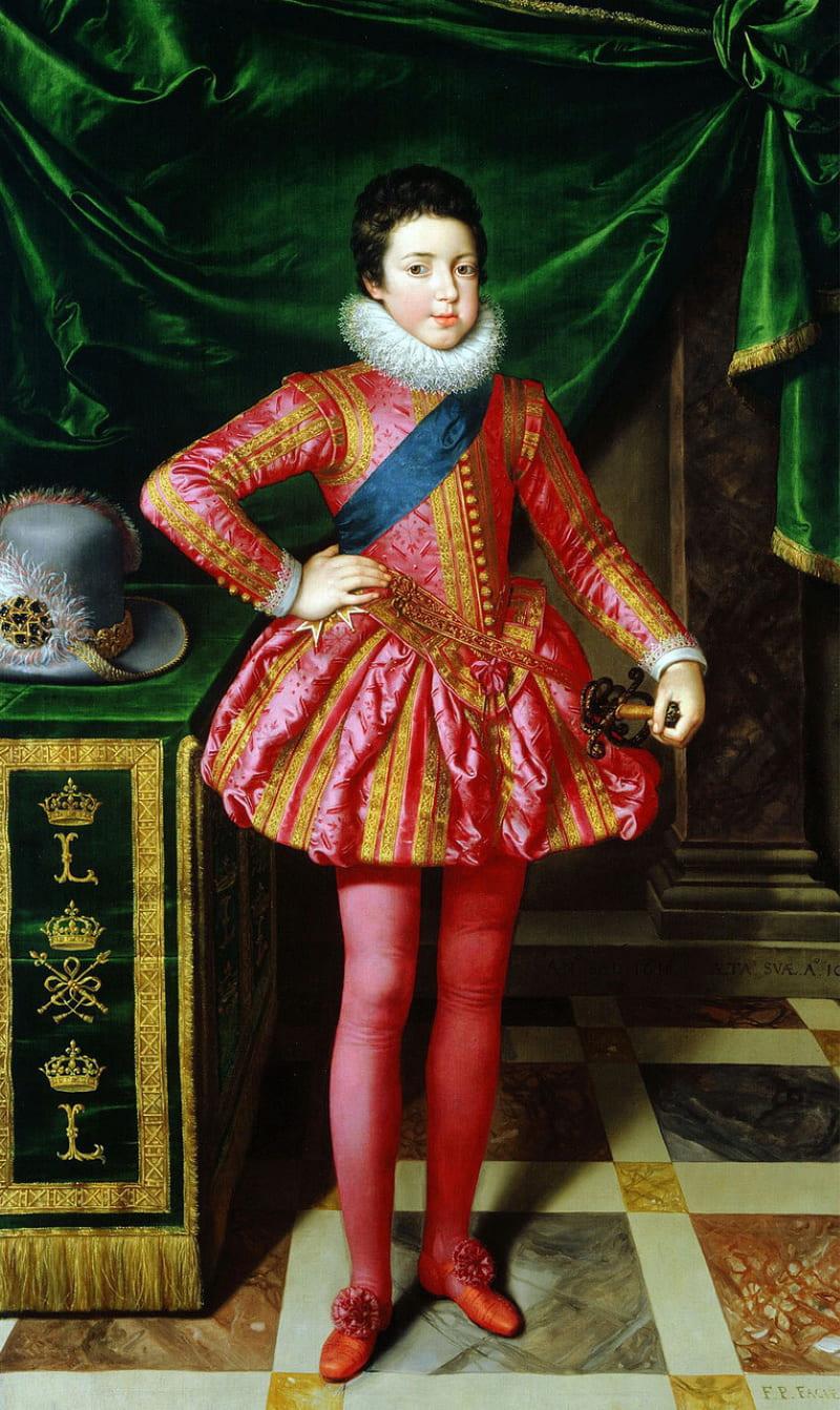 Франс Младший Пурбус «Портрет Людовика XIII в 1611 году»