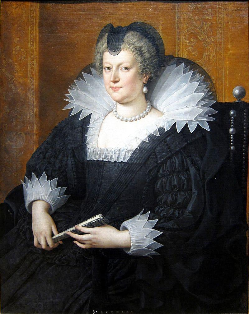 Франс Младший Пурбус «Портрет Марии Медичи»