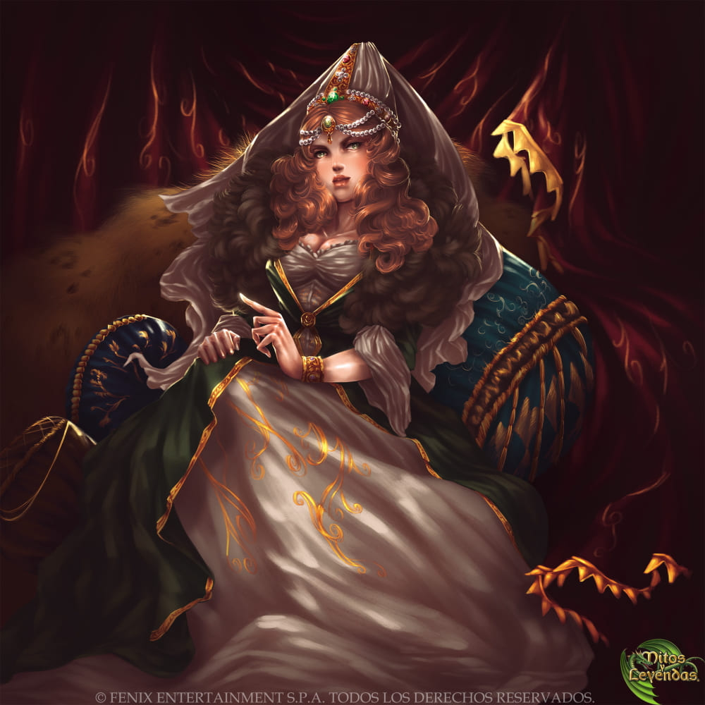 Хюррем-султан / © Sara Contreras YunaXD / yunaxd.artstation.com