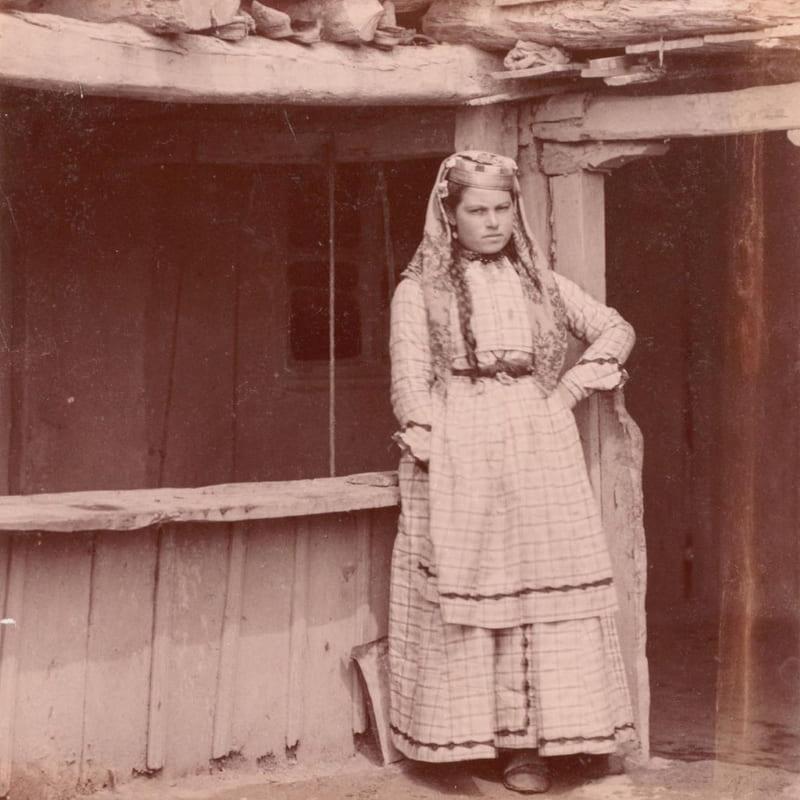 Крымскотатарская девушка