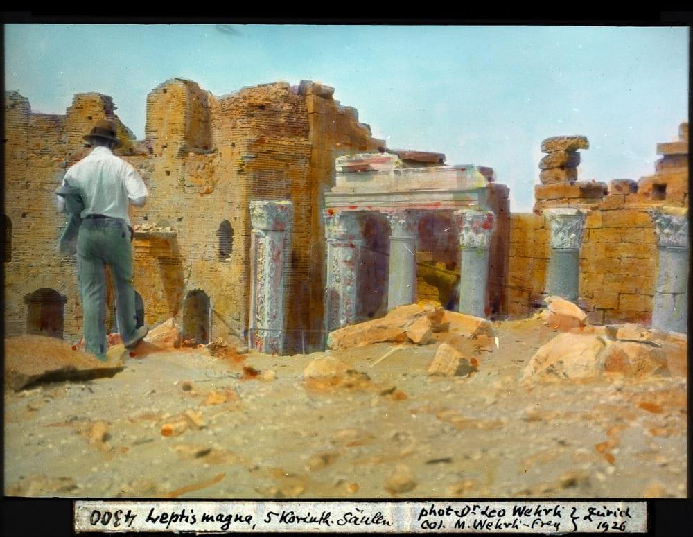 Лептис-Магна, 1926 год / © Leo Wehrli / commons.wikimedia.org