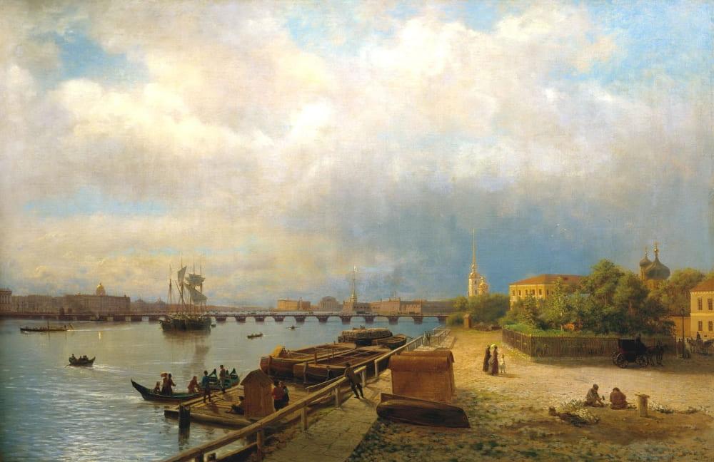 Лев Лагорио «Санкт-Петербург в 1859 году»