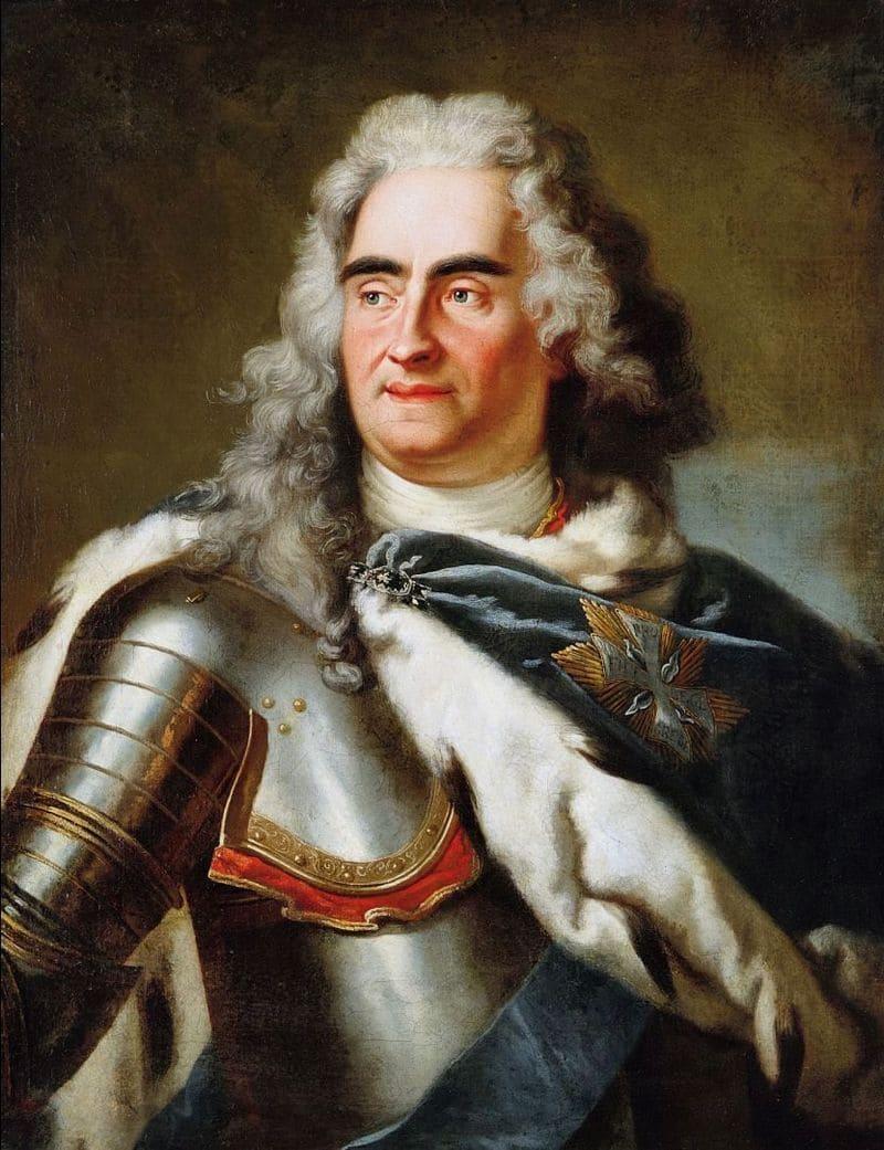 Луи де Сильвестр «Портрет короля польского Августа II Сильного»