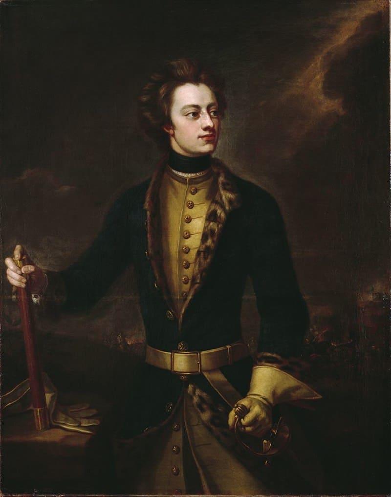 Майкл Даль «Портрет короля Швеции Карла XII»