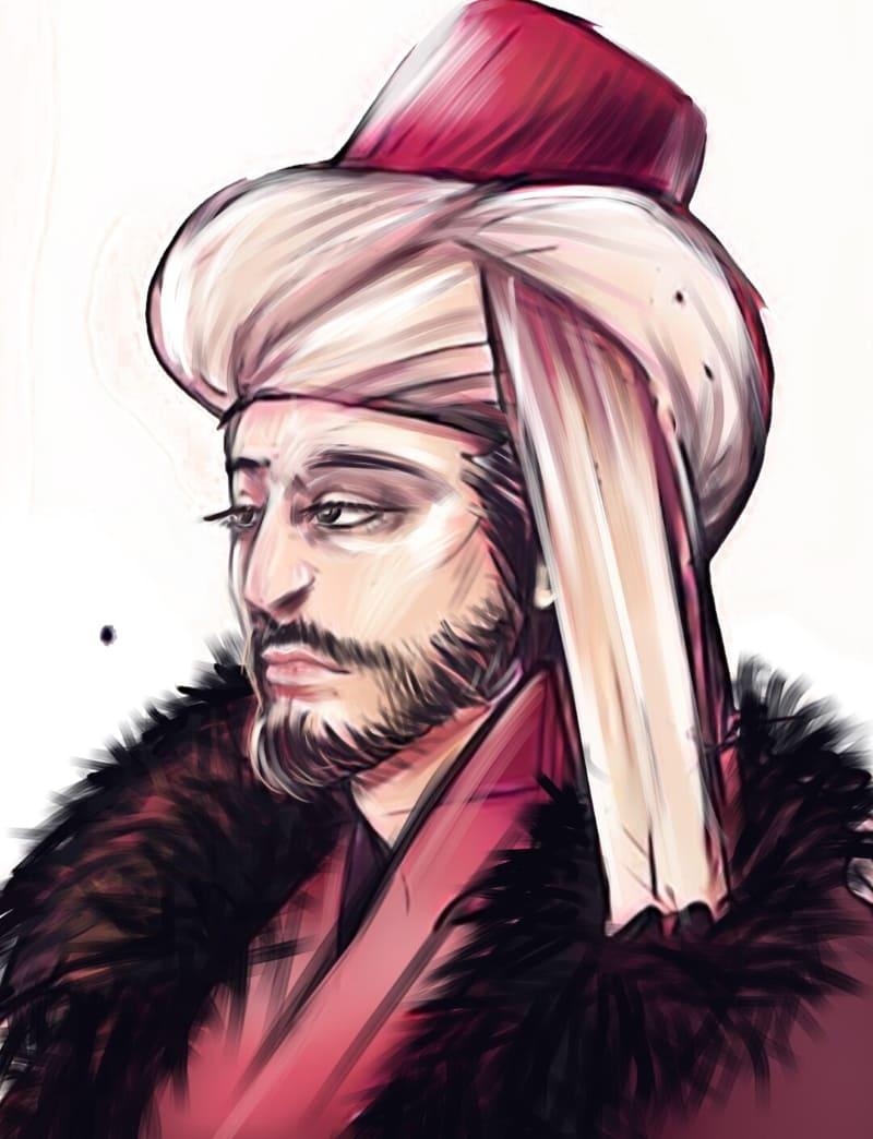Мехмед II / © Sina Mentari / sinamentari.artstation.com
