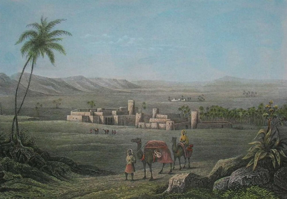 Мизда, Ливия, XIX век